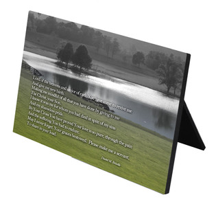 Lord of Heavens Horizontal Desk Plaque