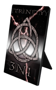 Trinity 3N1 Vertical Desk Plaque