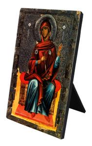 Annunciation Icon (Madonna) Vertical Desk Plaque