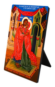 Sts. Joachim and Anne Vertical Desk Plaque