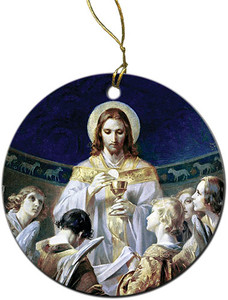 Christ, Bread of Angels Ornament