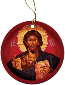 Christ the Teacher Ornament