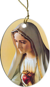 Our Lady of Fatima Ornament