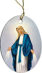 Our Lady of Grace Ornament