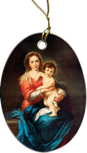 Virgin with Child Ornament