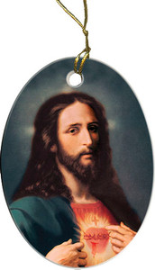 Sacred Heart Ornament
