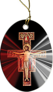 San Damiano Divine Mercy Ornament