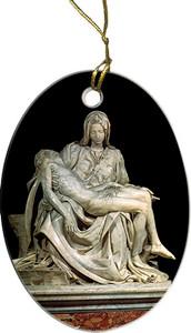 Pieta by Michaelangelo Ornament