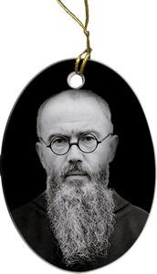 St. Maximilian Kolbe Ornament