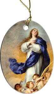 Immaculate Conception Ornament