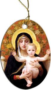 La Vierge au Lys Ornament