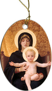Virgin and Child Ornament