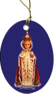 Infant of Prague Ornament