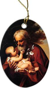 St. Joseph (Older) Ornament