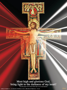 San Damiano Divine Mercy Poster