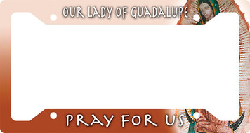 Our Lady of Guadalupe Plate Frame