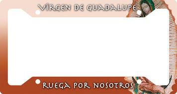 Virgen de Guadalupe Plate Frame