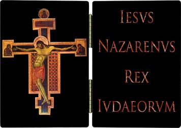 Byzantine Crucifix Diptych