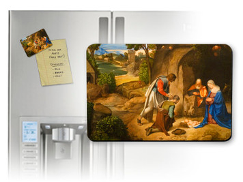 Adoration of the Shepherds Magnet