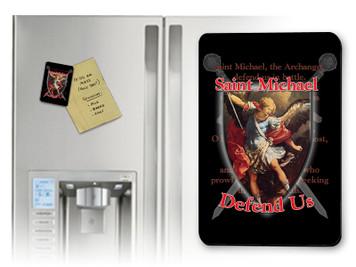 St. Michael Defend Us Magnet