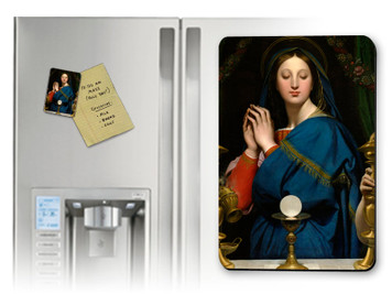 Madonna of the Host Magnet