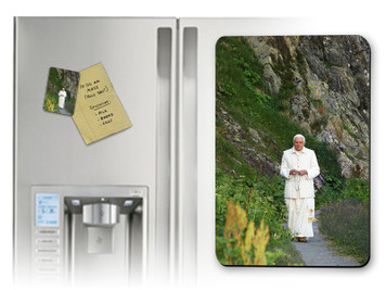 Pope Benedict in Mountains Magnet