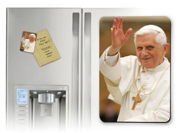 Pope Benedict Waving Magnet