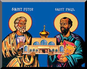 Sts. Peter and Paul by Fr. Thomas Loya