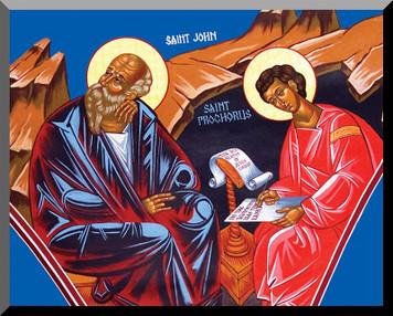 St. John & St. Prochorus by Fr. Thomas Loya