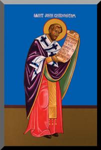 St. John Chrysostom by Fr. Thomas Loya