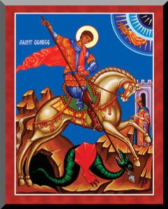 St. George & the Dragon by Fr. Thomas Loya