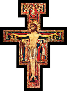 San Damiano Wall Plaque Cross
