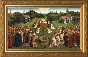 Altar of the Lamb Full Framed Art