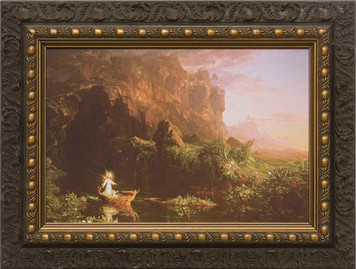 The Voyage of Life: Childhood Framed Art
