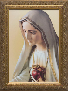 Our Lady of Fatima Framed Art