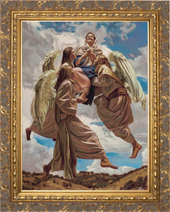 Assumption into Heaven by Jason Jenicke Gold Framed Art