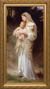 L'Innocence - Standard Gold Framed Art