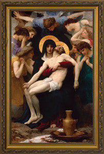 La Pieta - Standard Gold Framed Art