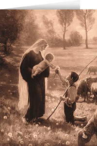 Gift of the Shepherd Greeting Card
