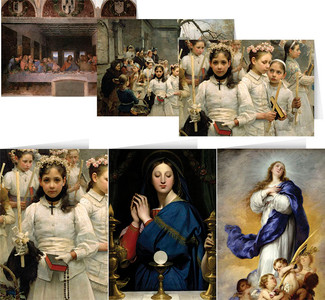 Assorted Eucharistic Card Set