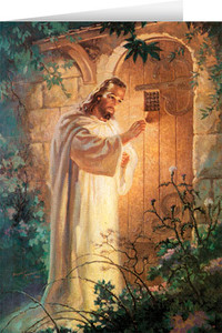 Christ at Heart's Door Greeting Card