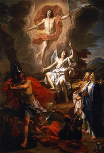 The Resurrection of Christ by Coypel Outdoor Image Plate