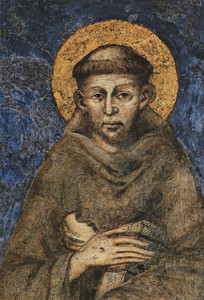 St. Francis of Assisi Outdoor Image Plate