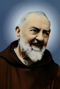 St. Padre Pio Outdoor Image Plate