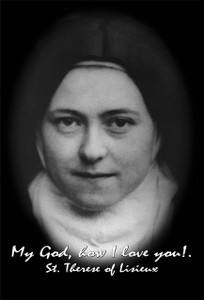 St. Therese of Lisieux (nun) Outdoor Image Plate