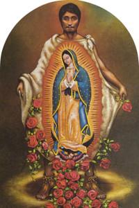 St. Juan Diego Arched Magnet