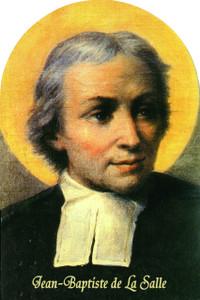 St. Jean Baptiste de La Salle Arched Magnet