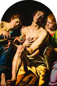 St. Sebastian Arched Magnet