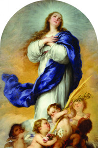 Immaculate Conception Arched Magnet