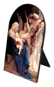 Song of the Angels Arched Desk Plaque